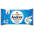 Andrex Washlets Moist Toilet Tissues 2pk
