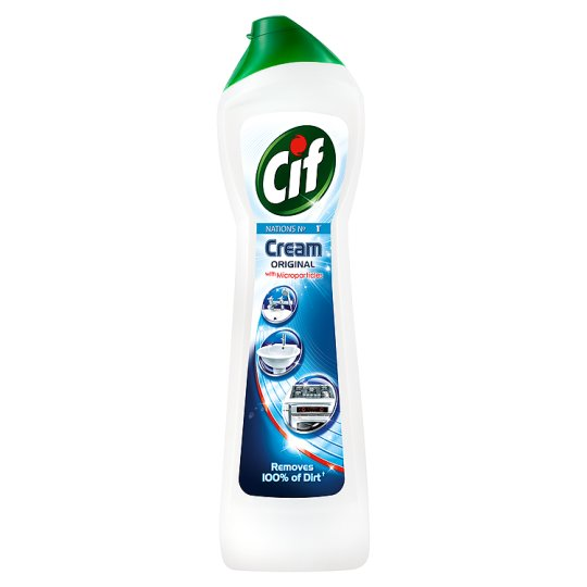 Cif Cream Cleaner - 3 x 500ml