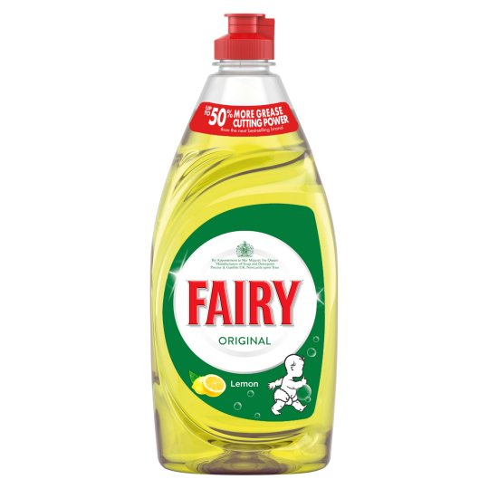 Fairy Liquid Lemon 6 x 780ml