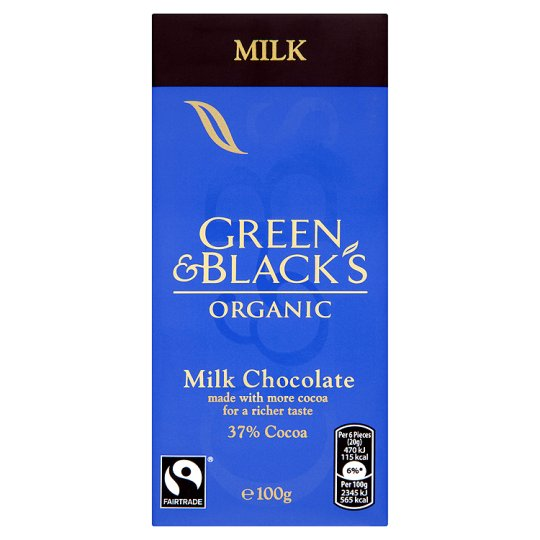 Green & Blacks Milk Chocolate