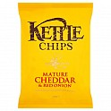 Kettle Crisps Cheddar & Red Onion