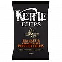 Kettle Crisps Sea Salt & Crushed Black Peppercorns