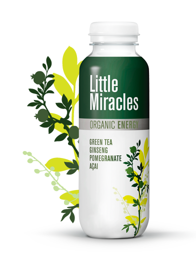 Little Miracles Green Tea Energy Drink 330ml