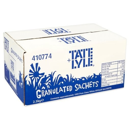 Tate and Lyle White Sugar Sachets