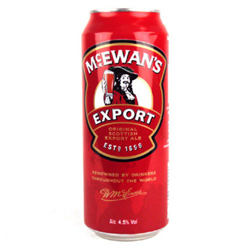 McEwens Export Cans 500ml