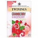 Twinings Cranberry and Raspberry 4 x 20's