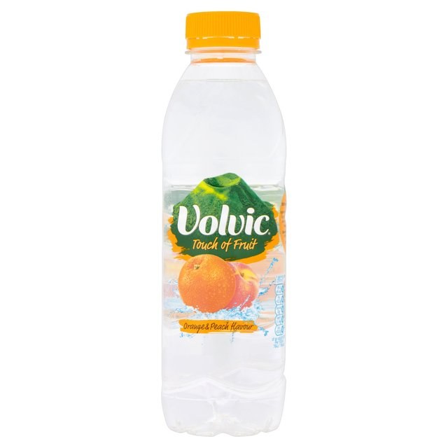 Volvic Touch of Fruit Orange & Peach 50cl
