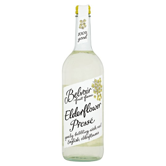 Belvoir Organic Elderflower Presse 6 x 75cl