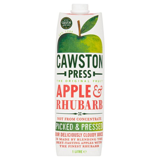 Cawston Press Apple and Rhubarb 6 x 1ltr