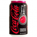 Coca Cola Zero Cans Cherry 330ml