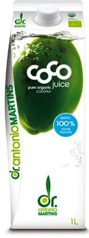 Dr Martins Organic Coconut Water 946ml