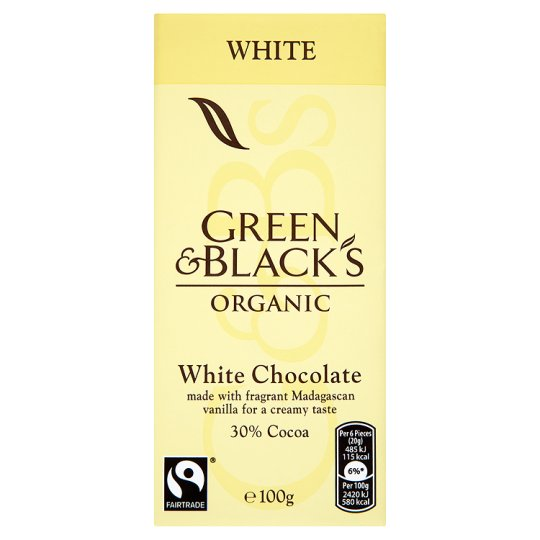Green & Blacks White Chocolate