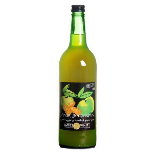 James White Apple and Ginger Organic Juice 75cl