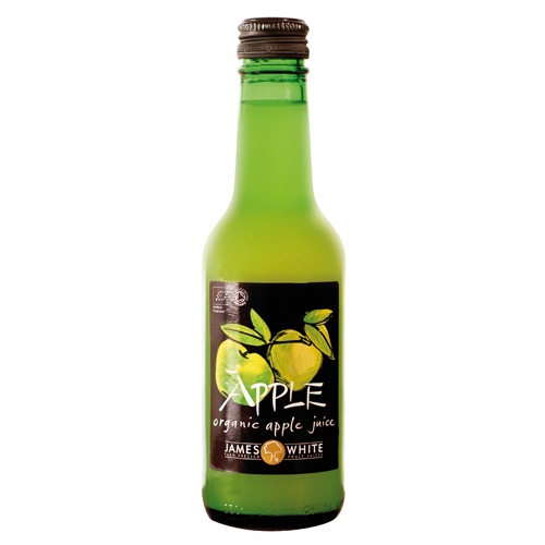 James White Apple Juice Organic 25cl