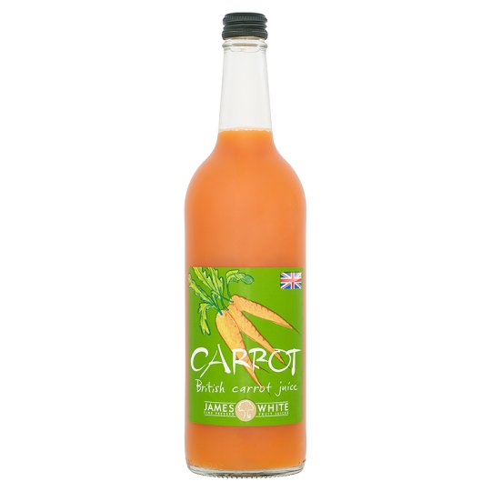 James White Organic Carrot Juice 75cl