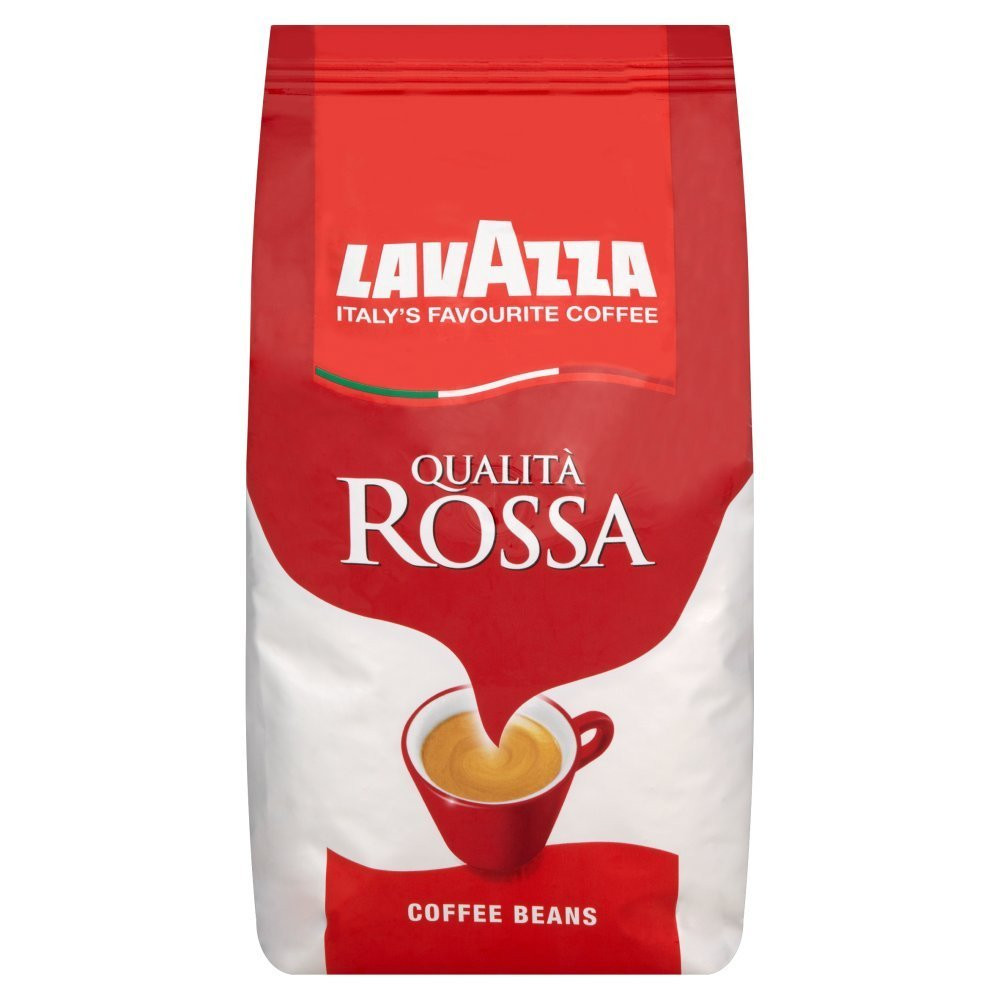 Lavazza Qualita Rossa Whole Bean 1kg
