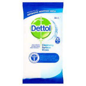 Dettol Antibacterial Wipes 3 x 30's