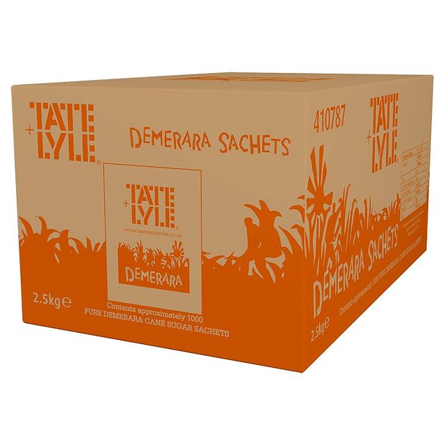 Tate and Lyle Demerara Sugar Sachets