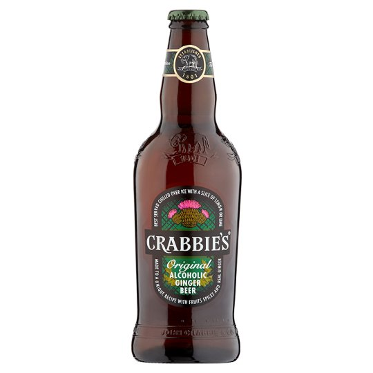 Crabbies Alcoholic Ginger Beer 500ml
