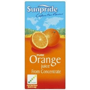 Sunpride Orange Juice 1ltr