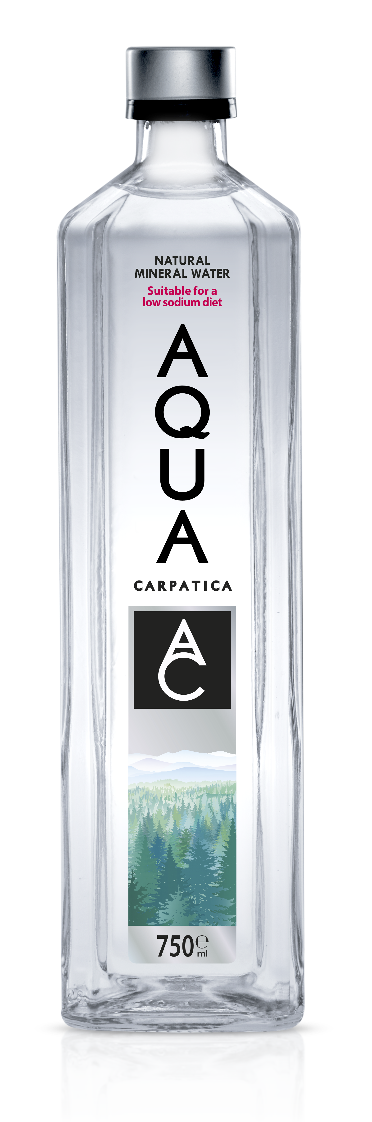Aqua Carpatica Still Glass 750ml