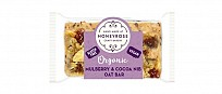 Mini Mulberry & Cocoa Nib Oat Bar Twin Pack