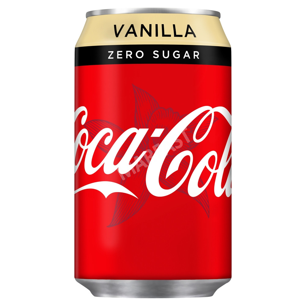 Coca Cola Zero Cans Vanilla 330ml