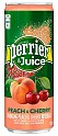 Perrier Peach and Cherry 24 x 25cl