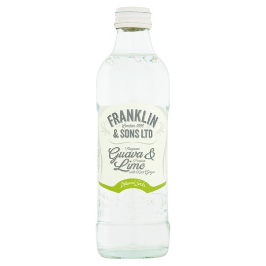 Franklin & Sons Infused Soda Guava, Lime & Ginger