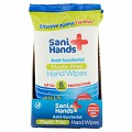 Sani Hands Antibacterial Hand Wipes Pocket Size