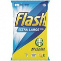 Flash Antibacterial Wipes Lemon 48's
