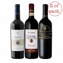 Italian Red Wine Mixed 6 x 75cl