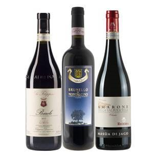 Festive Red Wines 3 x 75cl
