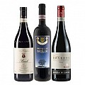 Festive Premium Christmas Red Wines 3 x 75cl