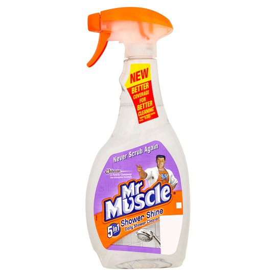Mr Muscle Shower Shine Spray - 3 x 500ml