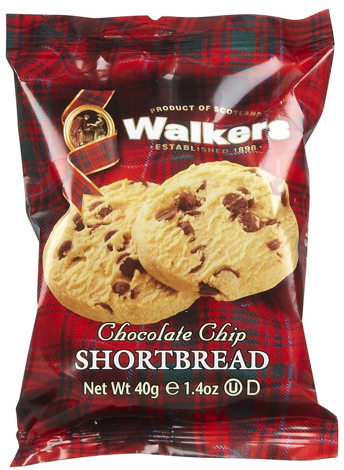 Walkers Chocolate Chip Biscuits